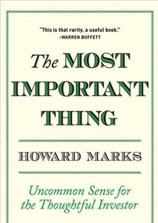 Howard Marks book
